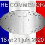 Marche commémorative du 18 juin 1940