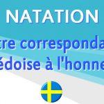 Notre correspondante pour la natation suédoise récompensée