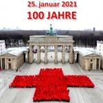 Marche «in situ» des 100 ans de la Croix Rouge Allemande (DRK)
